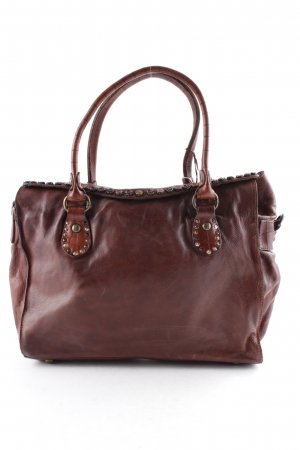 "Campomaggi Carry Bag ""Bauletto Handbag Medium Brown"" brown"