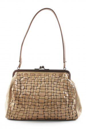 Campomaggi Carry Bag beige-cognac-coloured extravagant style