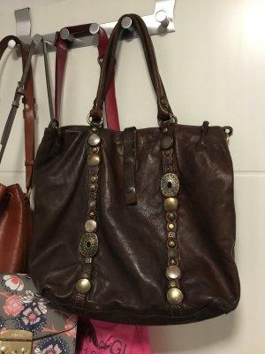 Campomaggi Shopper multicolore cuir