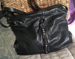 Campomaggi Tasche Nero schwarz Nieten