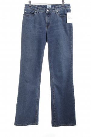 Campus by Marc O'Polo Boot Cut Jeans blau Casual-Look