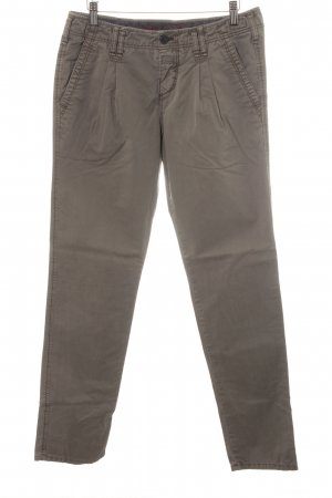 Campus by Marc O'Polo Chinohose graubraun Casual-Look