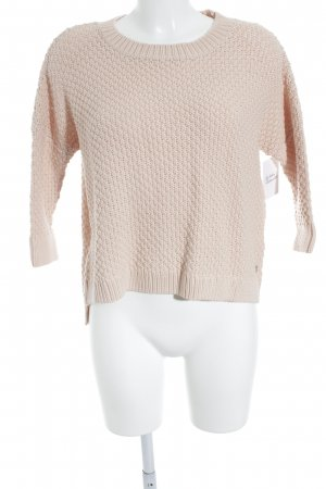 Campus by Marc O'Polo Grobstrickpullover rosé Casual-Look