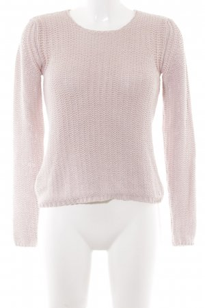 Campus by Marc O'Polo Häkelpullover altrosa Casual-Look
