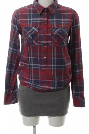 Campus by Marc O'Polo Hemdblousejurk geruite print casual uitstraling