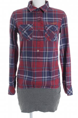 Campus by Marc O'Polo Abito blusa camicia motivo a quadri stile casual