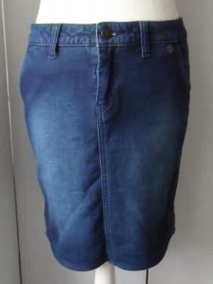 Campus by Marc O'Polo Denim Skirt blue mixture fibre