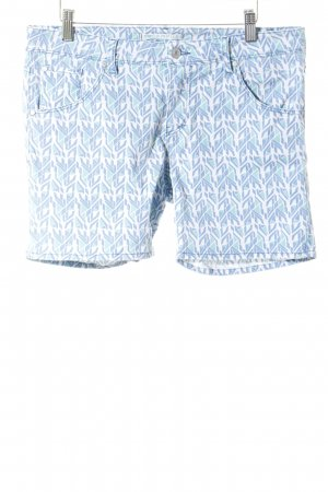 Campus by Marc O'Polo Jeansshorts grafisches Muster Boyfriend-Look
