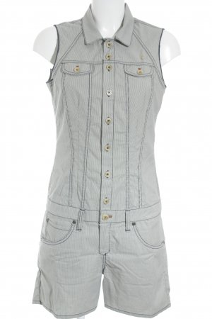 Campus by Marc O'Polo Jumpsuit weiß Streifenmuster Casual-Look