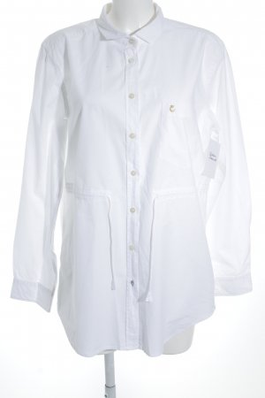 Campus by Marc O'Polo Blouse longue blanc style d'affaires