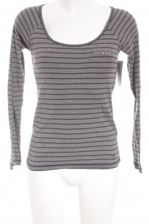 Campus by Marc O'Polo Longsleeve grau-dunkelblau Casual-Look