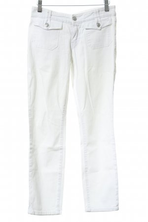 Campus by Marc O'Polo Drainpipe Trousers natural white casual look