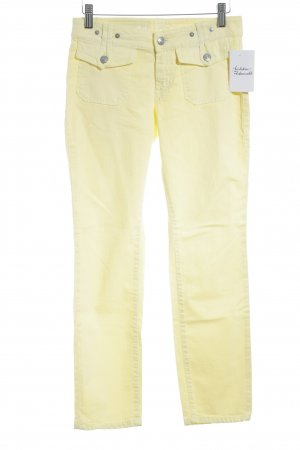 Campus by Marc O'Polo Slim Jeans gelb Casual-Look
