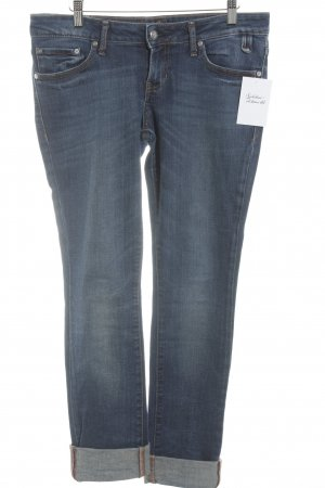 Campus by Marc O'Polo Straight-Leg Jeans dunkelblau Boyfriend-Look
