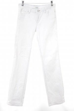 Campus by Marc O'Polo Straight-Leg Jeans weiß Casual-Look