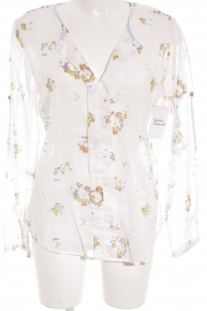 Campus by Marc O'Polo Transparenz-Bluse Farbtupfermuster Country-Look