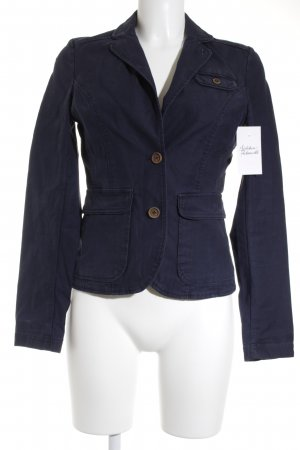 Campus by Marc O'Polo Unisex-Blazer dunkelblau Brit-Look