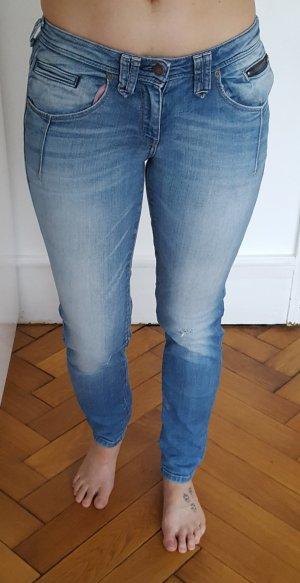 Campus Boyfriend jeans staalblauw