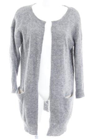 Campus Cardigan grau schlichter Stil