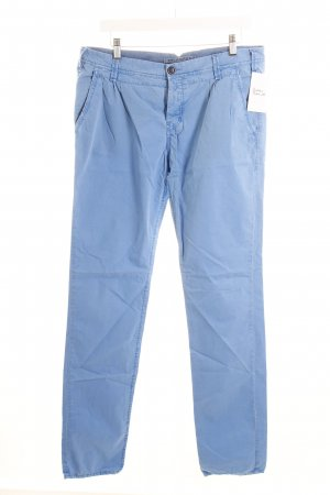Campus Chinos cornflower blue casual look