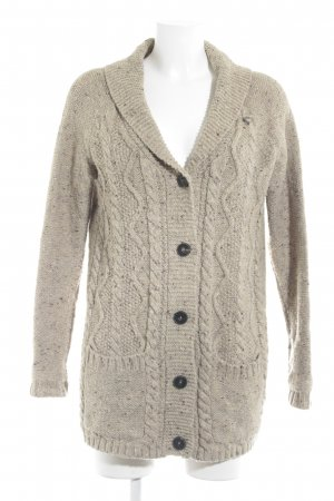 Campus Grobstrickjacke meliert Casual-Look