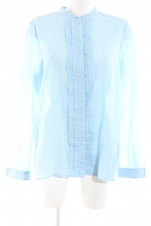 Campus Hemd-Bluse blau Streifenmuster Business-Look