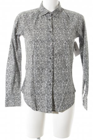 Campus Hemd-Bluse abstraktes Muster Business-Look