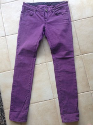 Campus Jeans in Gr. 29 / 32 aubergine