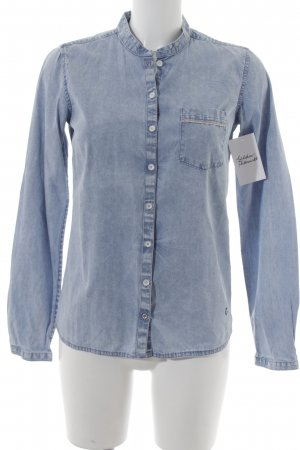 Campus Jeanshemd himmelblau Casual-Look