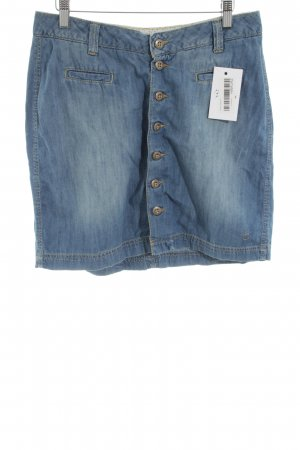 Campus Jeansrock blau Casual-Look
