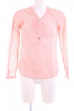 Campus Langarm-Bluse pink Casual-Look