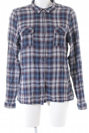Campus Long Sleeve Shirt check pattern casual look