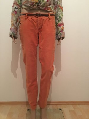 Campus Marc o'Polo Cord Cordhose Stretch Elasthan 29 orange Rost Five Pocket Marco Polo