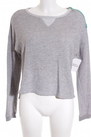 Campus Pullover grau Casual-Look