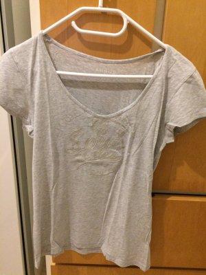 CAMPUS - Schlichtes graues T-shirt