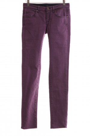 Campus Skinny Jeans lila Casual-Look