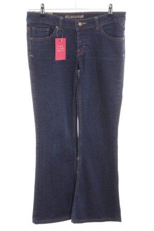 Campus Straight-Leg Jeans blau Casual-Look