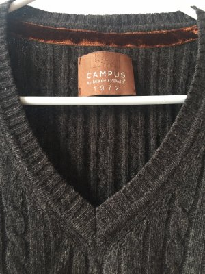 Campus by Marc O'Polo Wool Sweater dark brown
