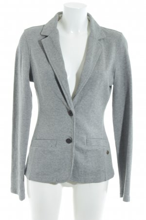 Campus Sweatblazer hellgrau Casual-Look