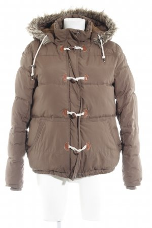 Campus Winterjacke hellbraun Casual-Look