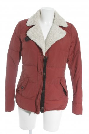 Campus Winterjacke rot Casual-Look