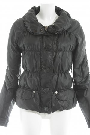 Campus Winterjacke schwarz Casual-Look