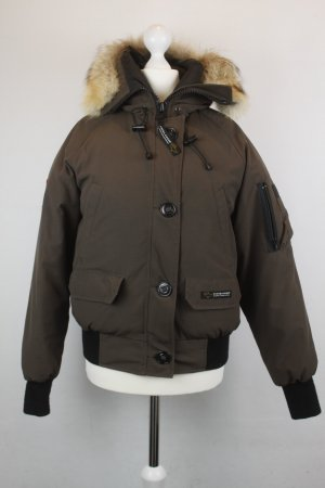 Canada Goose Bomber Jacket bronze-colored-black polyester