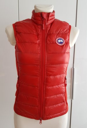 Canada Goose Down Vest brick red