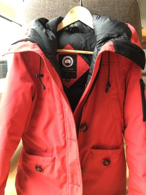 Canada Goose Down Jacket red