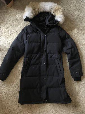 Canada Goose Manteau en duvet bleu foncé