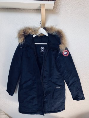 Canada Goose rossclair Parka blau Mantel Jacke M 38