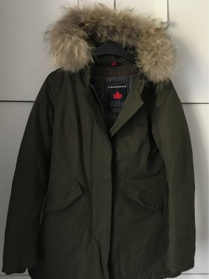 Canadian Classic Parka 34 olive