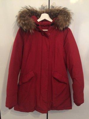Canadian Classics Manteau en duvet rouge foncé