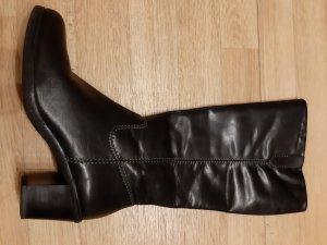 Canda Absatz Stiefel schwarz causal Look